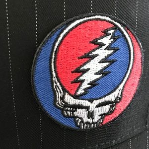 Grateful Dead Accessories - NWT Grateful Dead ⚡️SYF Pinstripe Flexfit L/XL Hat